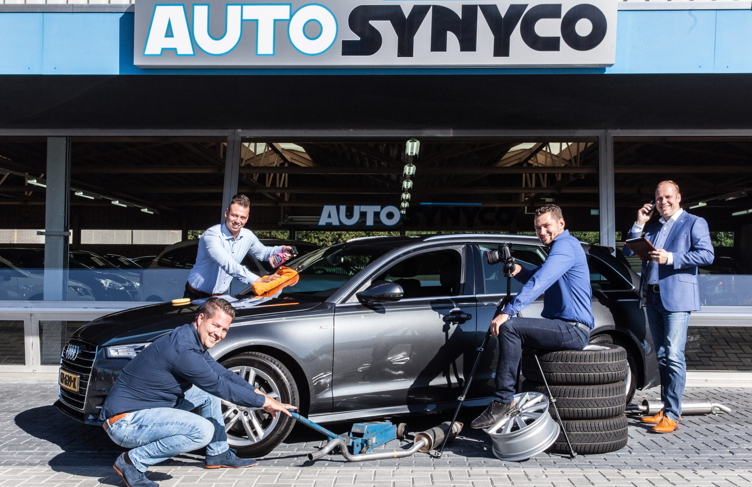 Auto Synyco - afspraak maken
